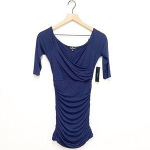 Lulus Scrunched Mini Bodycon Dress